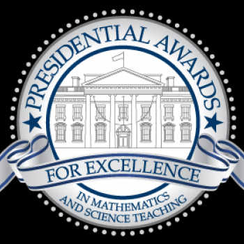 Logo for the Presidential Awards for Excellence in Mathematics and Science Teaching