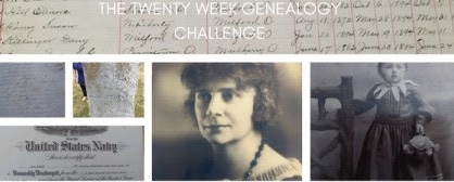 20 Week Genealogy Challenge