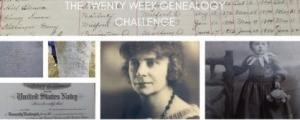 20 Week Genealogy Challenge