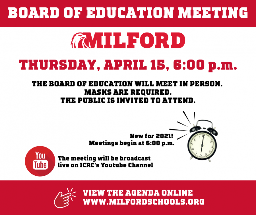 Board of Education meeting April 15