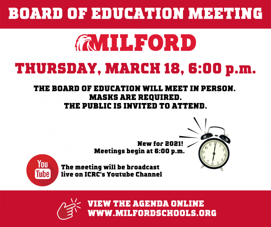 BOE meeting March 2021