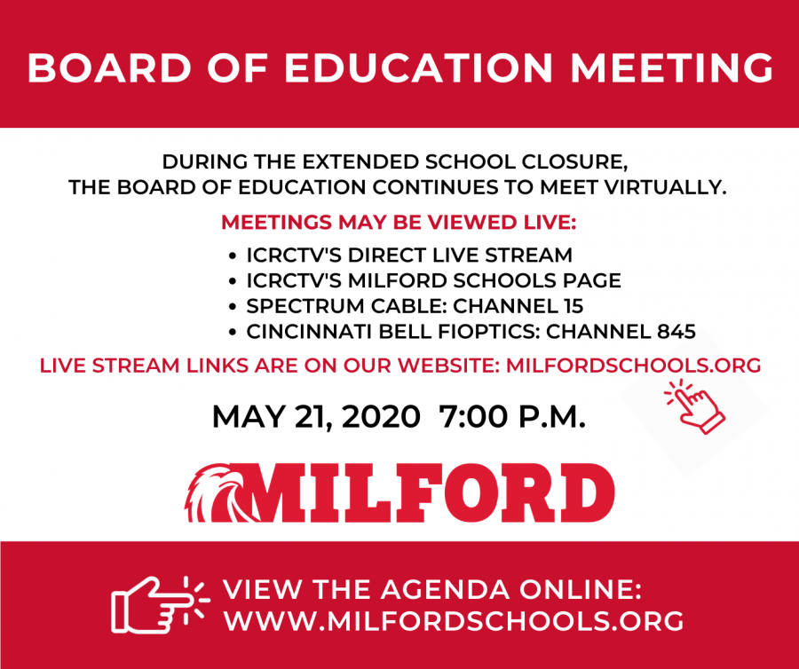 May BOE meeting