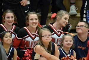 MHS and DSAGC Cheer Squads