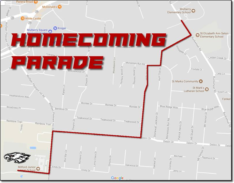 HoCo Parade Route