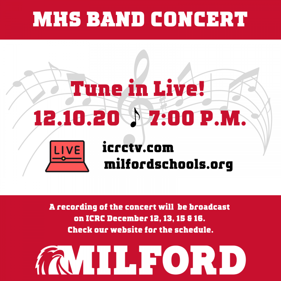 MHS winter band concert