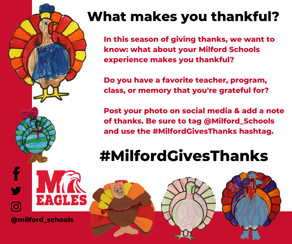 milford gives thanks graphic
