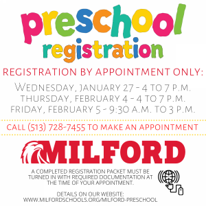 preschool registration 2021
