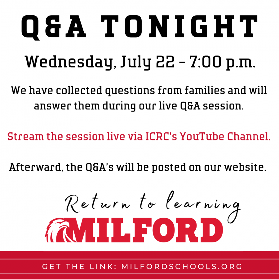 Q&A session graphic