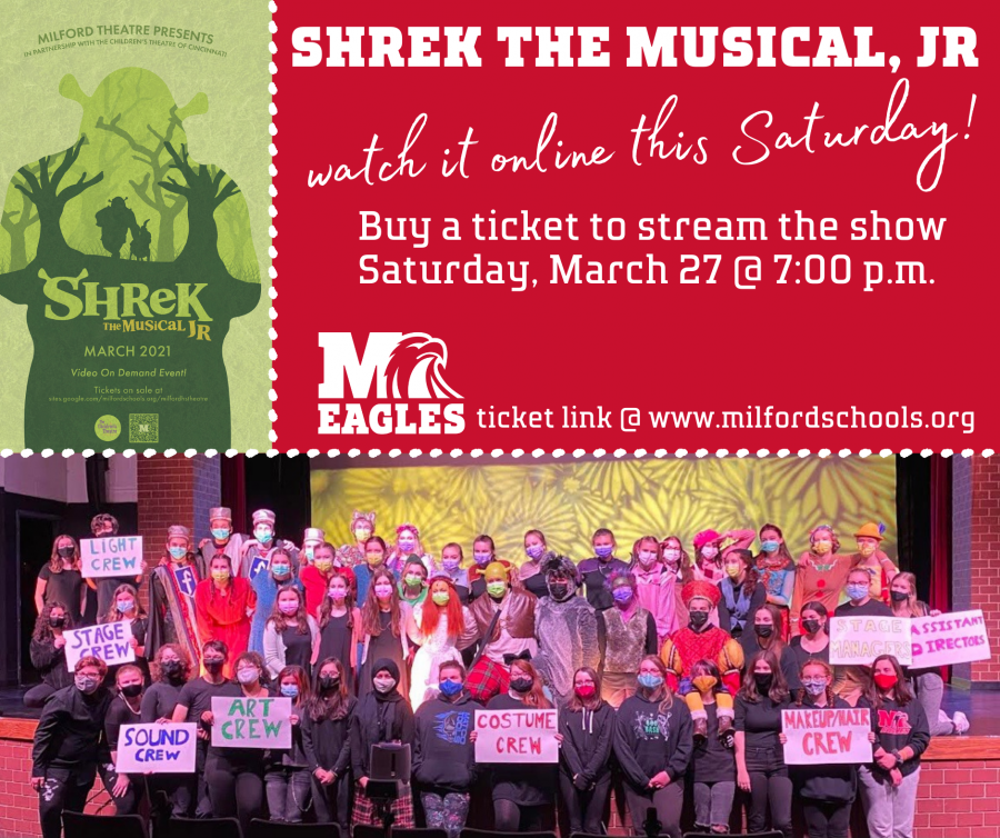 shrek musical ticket