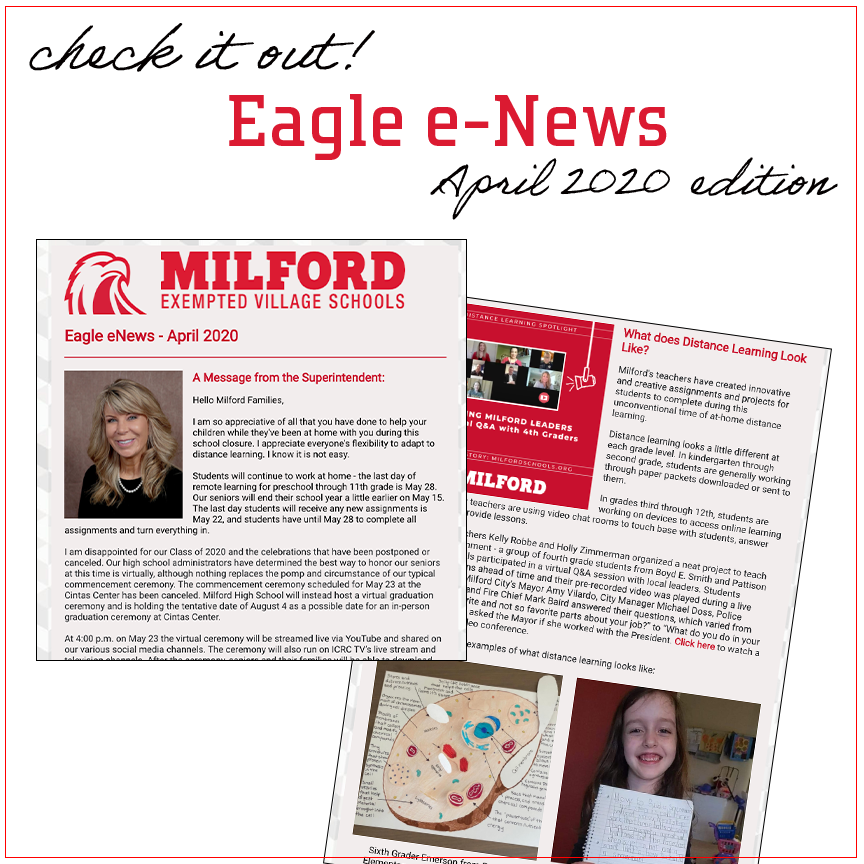 eagle e-news april 2020