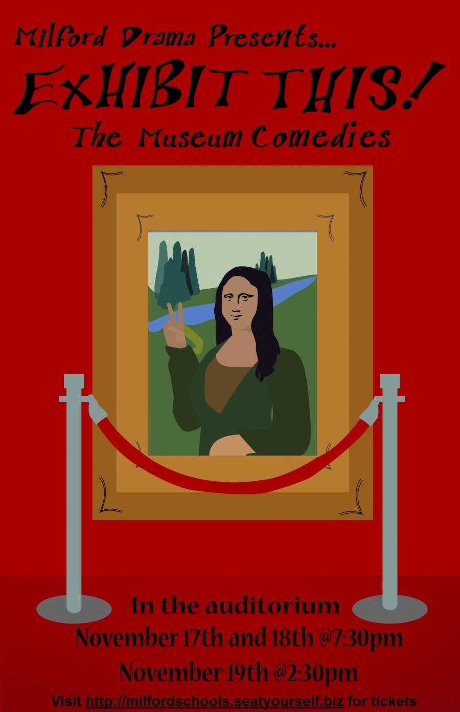MHS Fall Drama Poster