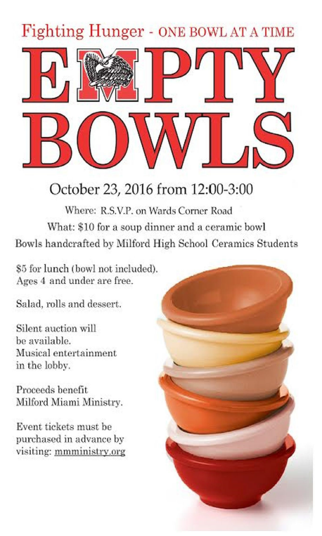 empty bowls poster